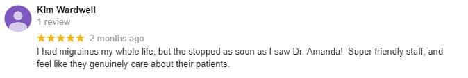 Patient Testimonial at Barge Berkley Chiropractic Clinics